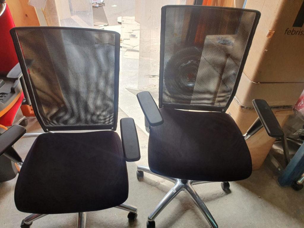 кресла сетка бу