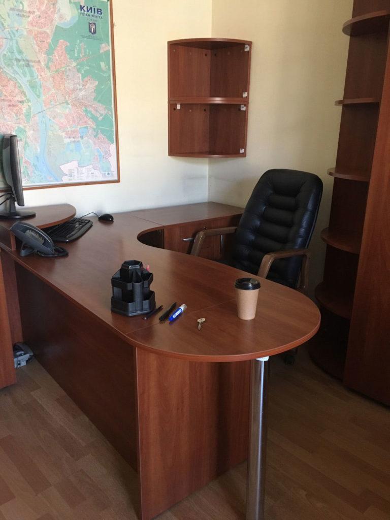 кабинет руководителя вишня мебель офисная бу