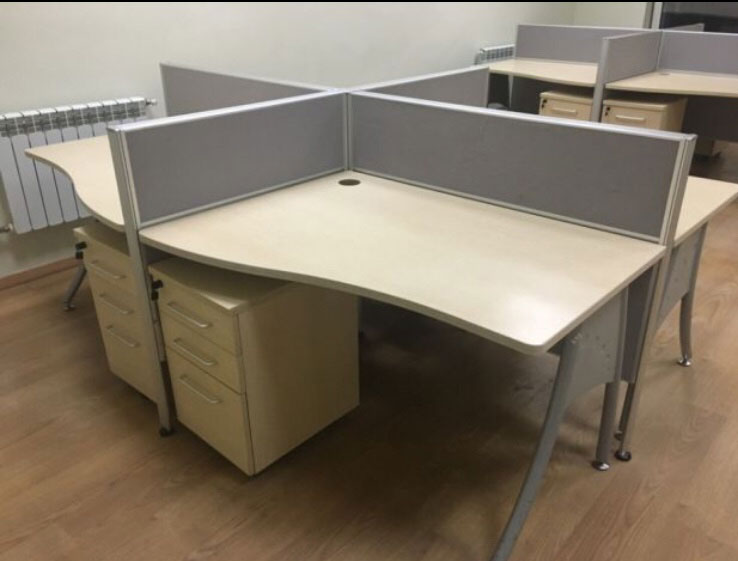 стол ромашка офисный б/у