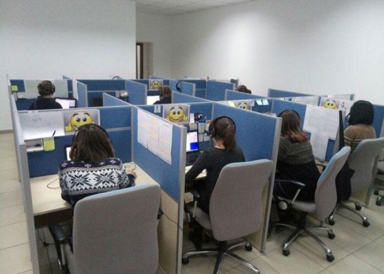 офисные столы коллцентр колл-центр