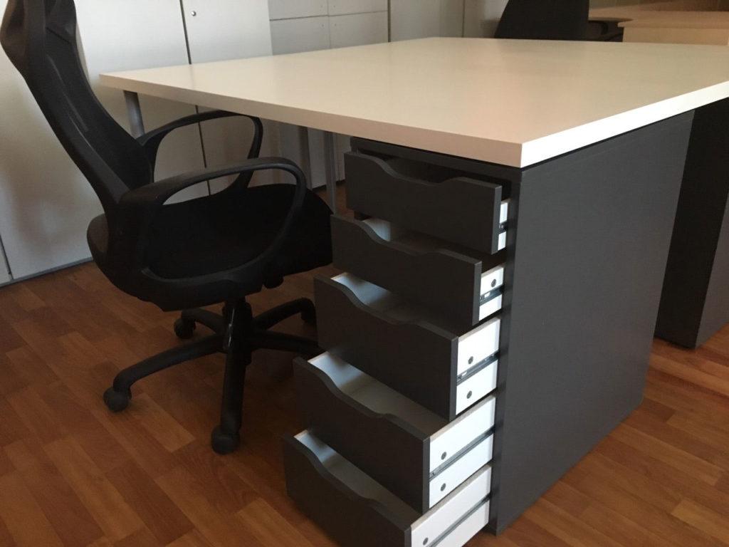 стол венге с ящиками офисный
