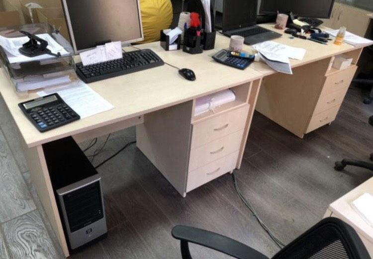 стол компьютерный офисный бу
